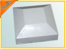 Metal aluminium cap for iron or aluminum fence