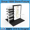 Producto cosmético expositores/estante de exhibición cosmética/mac venta al por mayor exhibición de cosméticos