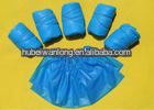 Disposable blue waterproof, PE shoe cover