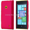 2013 best selling products smooth oil coated back hard shell case for nokia lumia 520