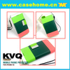 Candy color leather case flip cover for iphone5c