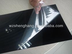 rigid matt black pvc sheets black