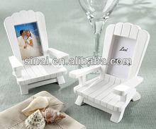 """""""Beach Memories"""" Miniature Adirondack Chair Place Card / Photo Frame"""