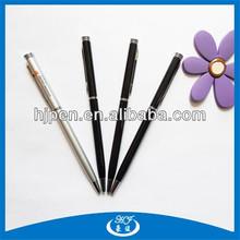 Thin Metal Ball Pen/ Hotel Pen/ Cross Ball Pen for Promotional