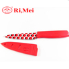 2014 new product coloured kitchen knife with sheath