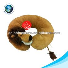 hot plush lion cushion