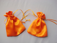 Clear satin drawstring bags Mailing and Shipping Supplies