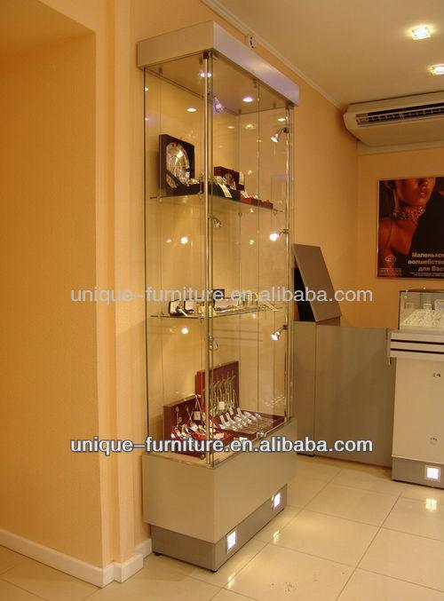 120x50x90cm Living Room Showcase Design Glass Display Showcase Design Glass S