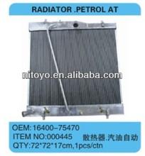 TOYOTA HIACE RADIATOR PETROL AT 16400-75470