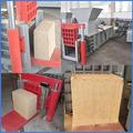 Virutas de madera, aserrín de madera de prensa de balas, la máquina empacadora