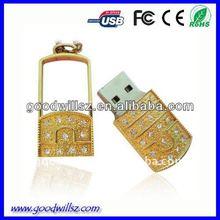 jewelry diamond rose usb flash drive