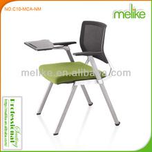 Kama chrome four legs mesh back desk chair C10-MCA-NM