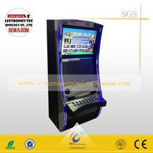 2014 hot sale games multi arcade games/casino slot game machine cabinets