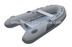 Aluminum Rigid Inflatable Rib Boat
