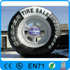 Popular Customed Inflatable Tire/Advertising Tire for sale