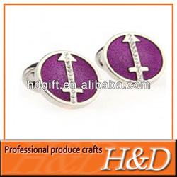 customized wedding gift elegant epoxy cuff link