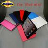 For apple iPad mini, leather case for ipad mini