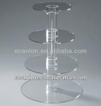 4 tier acrylic cupcake display case