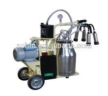 9J-I Mobile Model high quality Piston Milking Trolley machine for goat milk