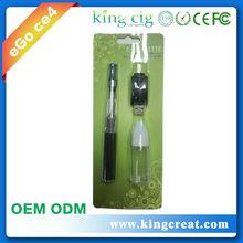 Kingcreat 2014 new product eGo-T retro e shisha ce4 clearomizer electronic cigarette wholesale