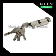 brass cylinder lock with knob