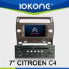 Touch screen 2 din Car DVD GPS for Citroen C4 2005-2009