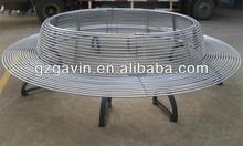 2013 hotsale weather resistant antirust waterproof patio furniture/patio steel furniture/patio furniture bench furniture