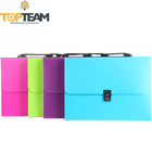 Free Sample Guaranteed Business Use 13 Pockets Expanding File Wallet, Customer-made Expanding File Folder With Handle