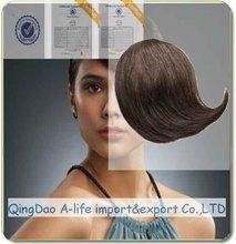 Factory Price virgin hair extension bangs/clip in bang extension/bang piece