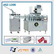 HSZ-120B carton machine with robotic packing system machine