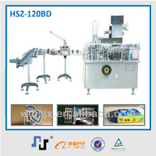 HSZ-120B carton machine with robotic packing system