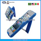 Rubberized Slim Case & Heavy-Duty Holster Combo for Apple iPod Touch 5