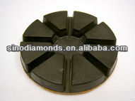 75mm/3inches resin bonded diamond wet polishing pads