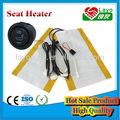 Yhc-yk-02 12v de fibra de carbono calentador de asiento ce/e- certificaciones marca