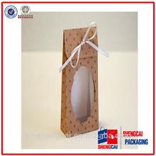 Hot sell custom logo printing Bulk paper bags window