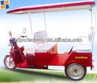 2015 3 wheel passenger auto electric trikes e rickshaw