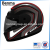 Chinese Motorcycle Helmet Black Color, Clear Eyeglass Full Face Motorcycle Helmet with Scarf!