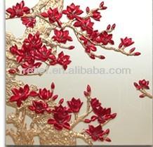 modern simple design flower painting