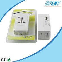 2014 best sale universal travel smart adapter