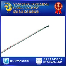Pure nickel 30/0.25 and two layers of fiberglass braiding wire 1.5mm2