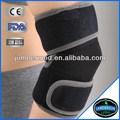 Soportes deportivos de neopreno ce para rodillas y codos en velcro negro