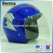 NEW Motorcycle Half Face Helmet, High Strength Anti-fogging Motorcycle Helmet Blue Color with Latest Design!