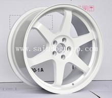 fine process RAYS TE37 white alloy wheels TE37-103