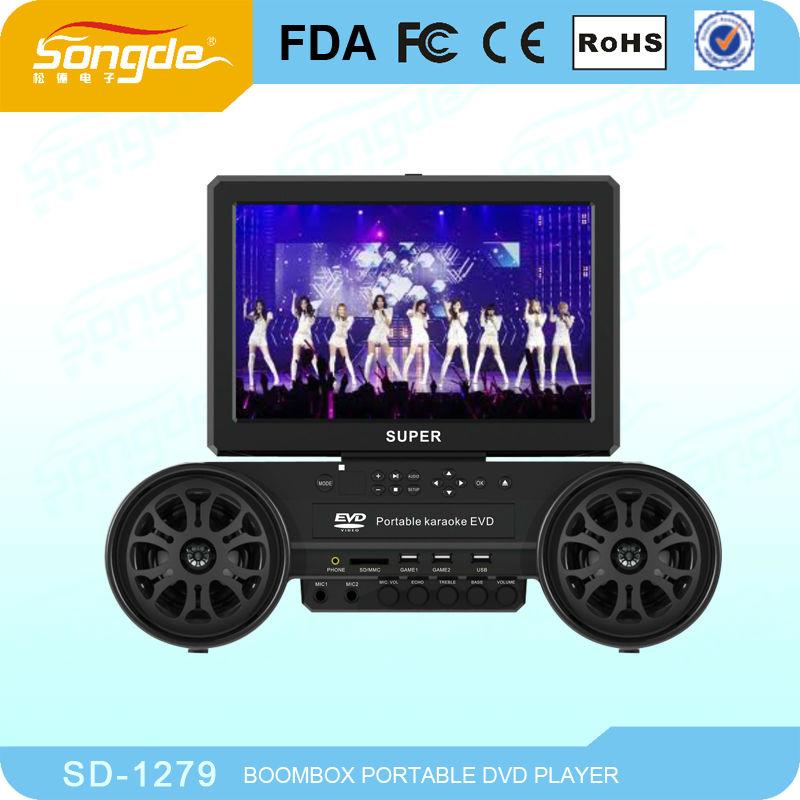 2013 Karaoke machine midi karaoke machine cheap poratble karaoke DVD