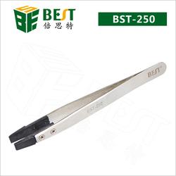BEST Steel smd hot tweezer with flat tip