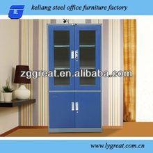 blue color swing door filing cabinets office furniture GLT-10X-031