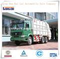 Howo caminhãodelixo 6x4/sistema hidráulico para caminhãodelixo