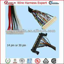 Dongguan Custom lvds/lcds cable&wire harness