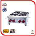 Acero inoxidable mostrador de gas quemador de la estufa de gh- 4( 0086- 13580546328)