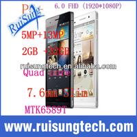 Star Ulefone U600 P6+ Smartphoen Quad Core MTK6589T 1.5GHz Android 4.2 OS 2GB RAM 32GB ROM 6.0 Inch IPS 1920*1080P 13.0MP Camera